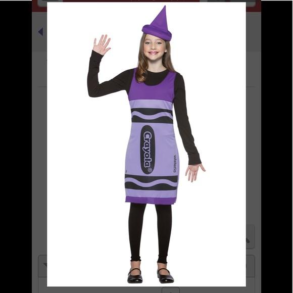 Spirit Costumes Crayola Purple Crayon Costume Poshmark